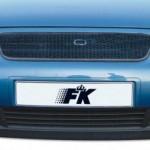 Grila fata metal  Audi A3 plasa metalica neagra