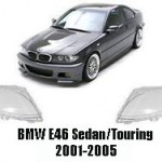 Geamuri faruri BMW E46 Sedan Facelift