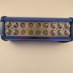 Proiector LED 54W albastru