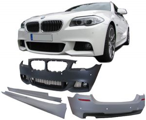 Pachet Exterior Bari fata-spate-praguri BMW F10 Seria 5 (2011-2014) M-Technik Design