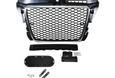 Grila radiator AUDI A3 S3 8P 8PA 2008-2012 RS STYLE Crom-Negru